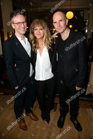 Stock Picture of Duncan Macmillan (Adaptation), Sonia Friedman (Producer) and Ian Rickson (Director)
