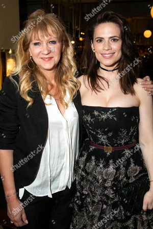 Sonia Friedman (Producer) and Hayley Atwell (Rebecca West)