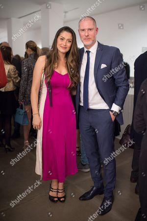 Iriane Malat and Jean-David Malat