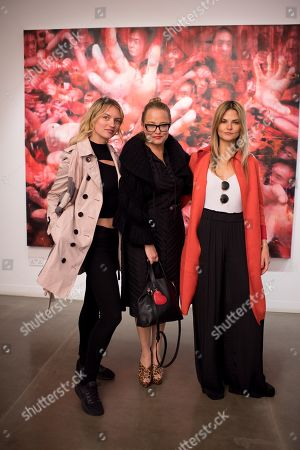 Fanzy Alexandersson, Erica Bergsmeds and Gemma Gregory