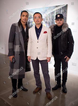Stock Picture of Harvard El Maserati, Li Tianbing and Stuart Watts