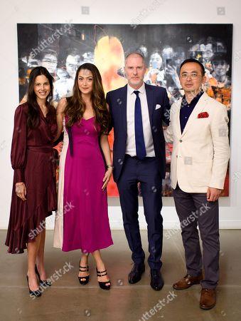 Victoria Aboucaya, Iriane Malat, Jean-David Malat and Li Tianbing