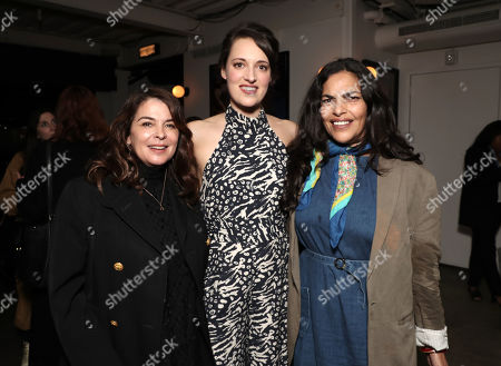 Annabella Sciorra, Phoebe Waller-Bridge and Sarita Choudhury
