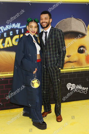 "Editorial picture of Red Carpet Arrivals at the U.S. Premiere of ""POKEMON DETECTIVE PIKACHU"", New York, USA - 02 May 2019"