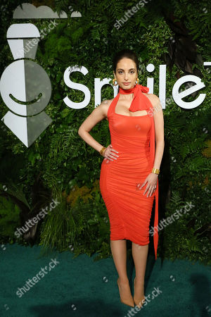 Stock Image of Alexa Ray Joel is pictured at Smile Train's 20th Anniversary Gala, in New York. Smile Train empowers local medical professionals to provide cleft surgery and comprehensive cleft care to children globally
