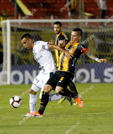 Editorial image of Guarani vs. Deportivo Cali, Asuncion, Paraguay - 02 May 2019