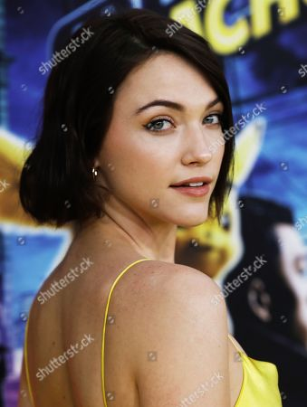 Violett Beane attends the US premiere of the film 'Pokemon Detective Pikachu' in New York, New York, USA, 02 May 2019.