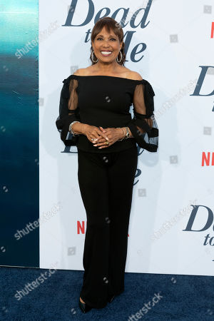"Stock Photo of Telma Hopkins arrives at the LA Premiere of ""Dead to Me"" at The Broad Stage, in Santa Monica, Calif"