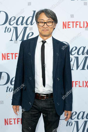"Keong Sim arrives at the LA Premiere of ""Dead to Me"" at The Broad Stage, in Santa Monica, Calif"