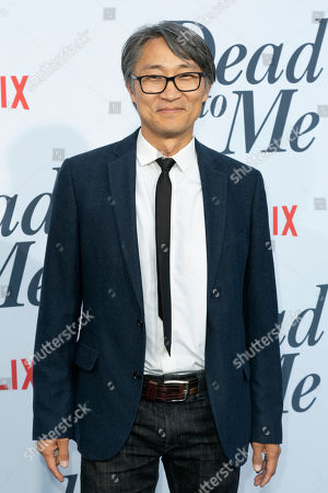 "Stock Picture of Keong Sim arrives at the LA Premiere of ""Dead to Me"" at The Broad Stage, in Santa Monica, Calif"
