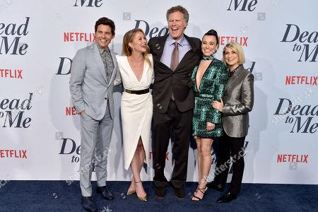 James Marsden, Christina Applegate, Will Ferrell, Linda Cardellini and Liz Feldman