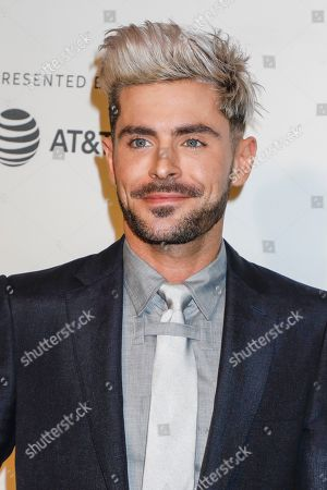Editorial picture of 'Extremely Wicked, Shockingly Evil and Vile' film premiere, Tribeca Film Festival, New York, USA - 02 May 2019