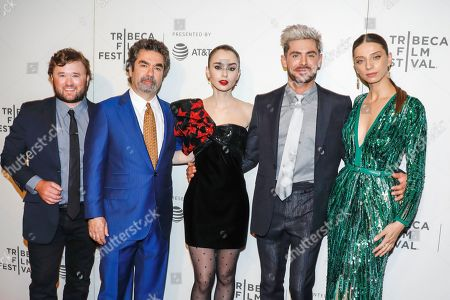Haley Joel Osment, Joe Berlinger, Lily Collins, Zac Efron and Angela Sarafyan
