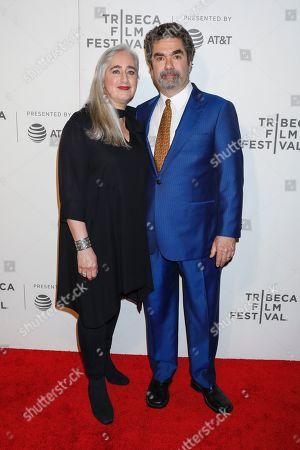 Joe Berlinger and wife Lauren Berlinger