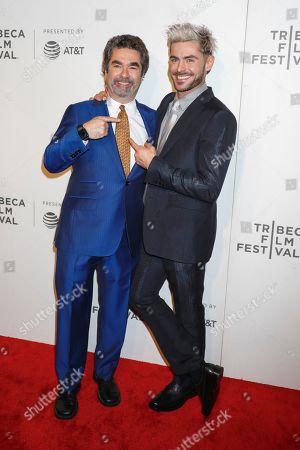 Joe Berlinger and Zac Efron