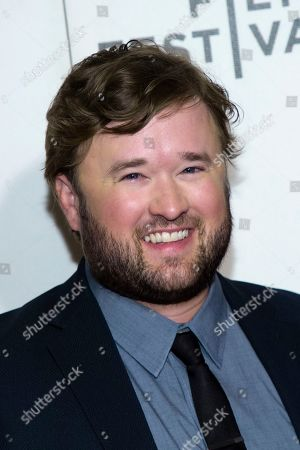 """Haley Joel Osment attends the screening for """"Extremely Wicked, Shockingly Evil and Vile"""" during the 2019 Tribeca Film Festival at the Tribeca Performing Arts Center, in New York"""