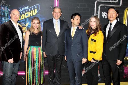Don McGowan, Blair Rich, Josh Grode, Hidenaga Katakami, Mary Parent and Kenji Okubo