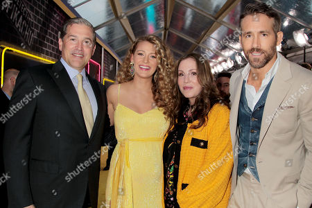 Josh Grode, Blake Lively, Mary Parent and Ryan Reynolds