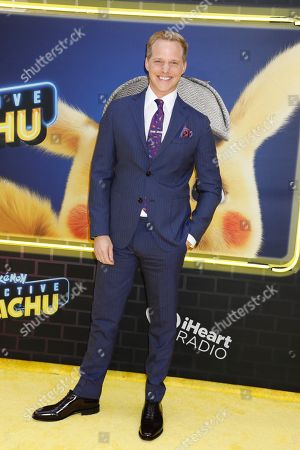 Editorial picture of 'Pokemon Detective Pikachu' film premiere, Arrivals, New York, USA - 02 May 2019