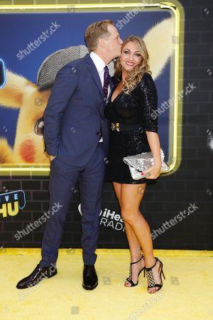 Chris Geere and wife Jennifer Sawdon