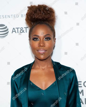 Nora Ephron Juror DeWanda Wise attends the Award Ceremony during the 2019 Tribeca Film Festival in the Stella Artois Theatre at the Tribeca Performing Arts Center, in New York