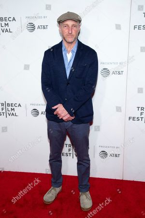 Feature Film Juror Jonathan Ames attends the Award Ceremony during the 2019 Tribeca Film Festival in the Stella Artois Theatre at the Tribeca Performing Arts Center, in New York