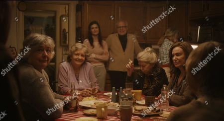 Estelle Parsons as Mary, Joyce Van Patten as Madge, Phyllis Somerville as Ina and Mary Kay Place as Diane