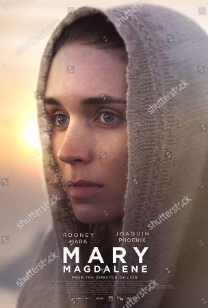 Mary Magdalene (2018) Poster Art. Rooney Mara as Mary Magdalene