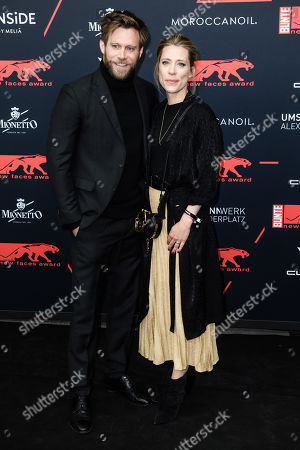 German actor Ken Duken and Marisa Leonie Bach attend the New Faces Award 2019 ceremony in Berlin, Germany, 02 May 2019 (issued 03 May 2019). The New Faces Award is a young talent prize that has been awarded since 1998 by the German weekly Bunte.