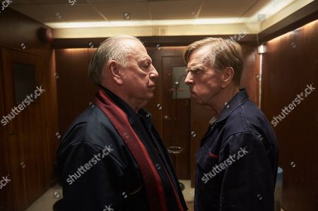 Kenneth Cranham as Brian Reader and Timothy Spall as Terry Perkins.
