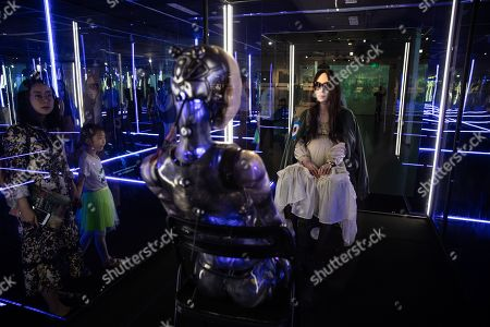Editorial photo of 'Tim Yip: Mirror' exhibition at the Today Art Museum in Beijing, China - 03 May 2019