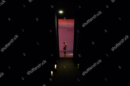 A woman visits the 'Tim Yip: Mirror' exhibition at the Today Art Museum in Beijing, China, 03 May 2019. Tim Yip is an artist, costume designer, and art director for stage and film. The exhibition 'Tim Yip: Mirror' shows various expression formats of art using photography, video, installation and sculpture. The exhibition runs from 13 April to 21 July 2019.