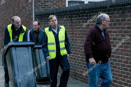 Timothy Spall as Terry Perkins, Brian F O'Byrne as Basil, David Hayman as Danny Jones and Alex Norton as Kenny Collins.