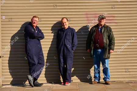 Geoff Bell as Carl Wood, David Hayman as Danny Jones and Alex Norton as Kenny Collins.