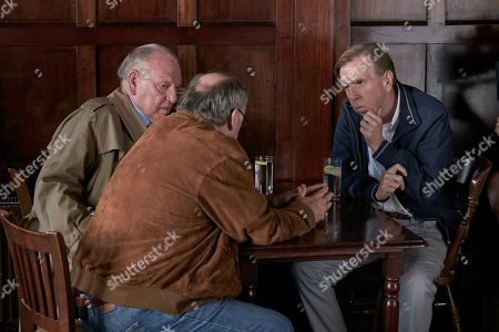 Timothy Spall as Terry Perkins, Kenneth Cranham as Brian Reader and Alex Norton as Kenny Collins.