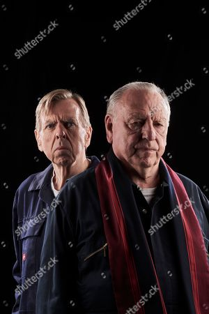 Stock Photo of Timothy Spall as Terry Perkins and Kenneth Cranham as Brian Reader.