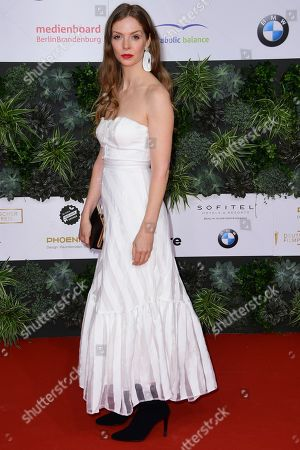 Stock Photo of Pheline Roggan attends the 69th German Film Awards 'LOLA' in Berlin, Germany, 03 May 2019. The most highly endowed cultural award in Germany is presented in 18 categories by the Deutsche Filmakademie (German film academy).