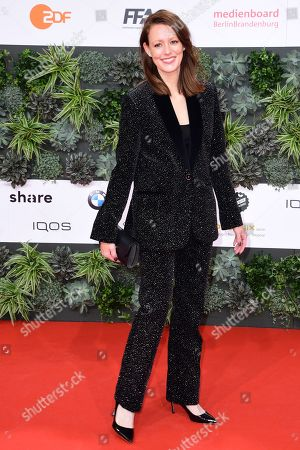 Lavinia Wilson attends the 69th German Film Awards 'LOLA' in Berlin, Germany, 03 May 2019. The most highly endowed cultural award in Germany is presented in 18 categories by the Deutsche Filmakademie (German film academy).