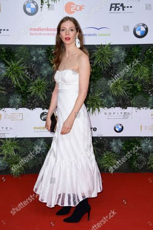 Stock Image of Pheline Roggan attends the 69th German Film Awards 'LOLA' in Berlin, Germany, 03 May 2019. The most highly endowed cultural award in Germany is presented in 18 categories by the Deutsche Filmakademie (German film academy).