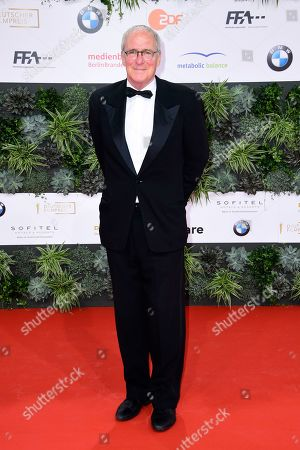 August Zirner attends the 69th German Film Awards 'LOLA' in Berlin, Germany, 03 May 2019. The most highly endowed cultural award in Germany is presented in 18 categories by the Deutsche Filmakademie (German film academy).