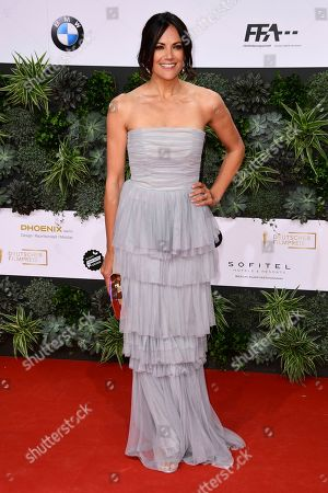 Stock Photo of Bettina Zimmermann attends the 69th German Film Awards 'LOLA' in Berlin, Germany, 03 May 2019. The most highly endowed cultural award in Germany is presented in 18 categories by the Deutsche Filmakademie (German film academy).