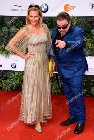 Karen Böhne (L) and Armin Rohde attend the 69th German Film Awards 'LOLA' in Berlin, Germany, 03 May 2019. The most highly endowed cultural award in Germany is presented in 18 categories by the Deutsche Filmakademie (German film academy).