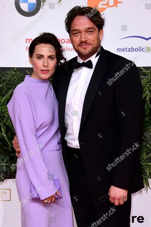 Antje Traue (L) and Ronald Zehrfeld attend the 69th German Film Awards 'LOLA' in Berlin, Germany, 03 May 2019. The most highly endowed cultural award in Germany is presented in 18 categories by the Deutsche Filmakademie (German film academy).
