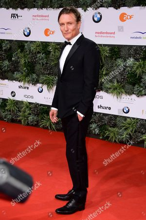Oliver Masucci attends the 69th German Film Awards 'LOLA' in Berlin, Germany, 03 May 2019. The most highly endowed cultural award in Germany is presented in 18 categories by the Deutsche Filmakademie (German film academy).