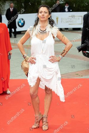 Jana Pallaske attends the 69th German Film Awards 'LOLA' in Berlin, Germany, 03 May 2019. The most highly endowed cultural award in Germany is presented in 18 categories by the Deutsche Filmakademie (German film academy).