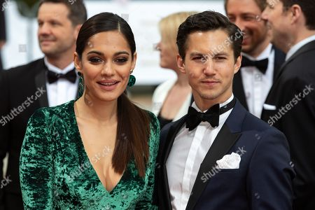 Stock Photo of Nilam Farooq (L) and Oliver Schultz (R) attend the 69th German Film Awards 'LOLA' in Berlin, Germany, 03 May 2019. The most highly endowed cultural award in Germany is presented in 18 categories by the Deutsche Filmakademie (German film academy).