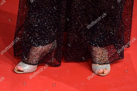 Jessica Schwarz attends the 69th German Film Awards 'LOLA' in Berlin, Germany, 03 May 2019. The most highly endowed cultural award in Germany is presented in 18 categories by the Deutsche Filmakademie (German film academy).