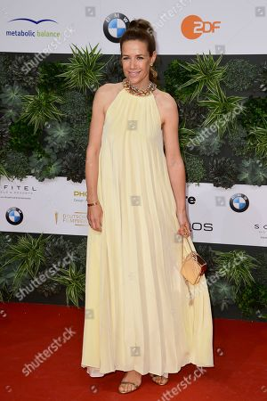 Alexandra Neldel attends the 69th German Film Awards 'LOLA' in Berlin, Germany, 03 May 2019. The most highly endowed cultural award in Germany is presented in 18 categories by the Deutsche Filmakademie (German film academy).