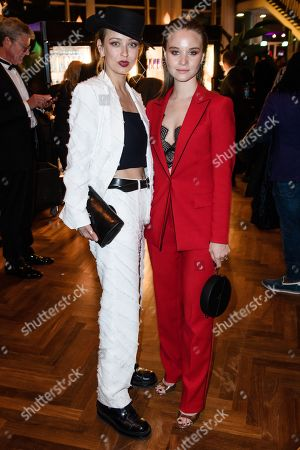 Caro Cult (L) and Sonja Gerhardt during the after-show party of the 69th German Film Awards 'LOLA' in Berlin, Germany, 03 May 2019. The most highly endowed cultural award in Germany is presented in 18 categories by the Deutsche Filmakademie (German film academy).
