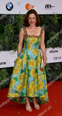 Inka Friedrich attends the 69th German Film Awards 'LOLA' in Berlin, Germany, 03 May 2019. The most highly endowed cultural award in Germany is presented in 18 categories by the Deutsche Filmakademie (German film academy).